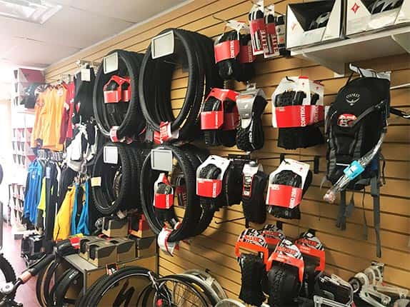 Bikes parts and accessories